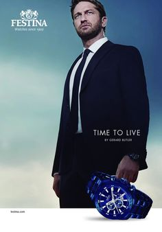 FESTINA - Time To Live Promotion featuring Gerard Butler as Brand ambassador!