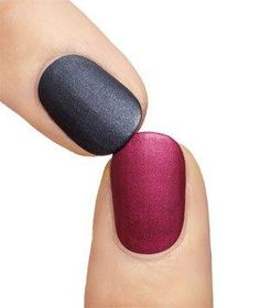 """""""Add cornstarch to clear polish to get matte finish; easier than paying so much for matte nail polish."""" I am so trying this, I can never find matte nail polish and I love the look! Beauty Nails, Diy Beauty, Beauty Makeup, Hair Makeup, Manicure Y Pedicure, Mani Pedi, Fall Manicure, All Things Beauty, Girly Things"""