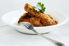 Chicken, ginger and cumin curry