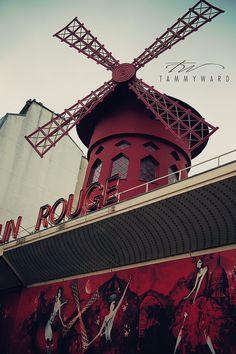 Paris France Moulin Rouge