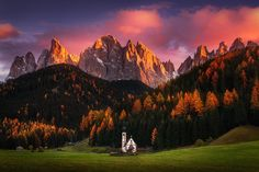 Autumn Faith  the Dolomites | by Albert Dros [OS] [16001067] #reddit