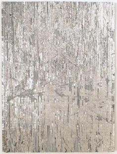 Luxury Dust (Silver), 2007, 46 x 61 cm, mixed media on cardboard