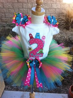 yo gabba gabba birthday ideas | Birthday Party ideas / Happy Birthday Yo Gabba Gabba TuTu I love love ...