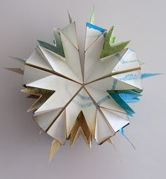 UnBound: A Paper Art Blog: The Road to Spring by Gina Pisello