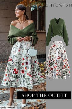 Free Shipping & Easy Return. Up to 30% Off. Multi Floral Print Embossed Midi Skirt. @cristinasurdu#clothing #datingoutfit #partyoutfit #casualoutfit #womenclothing #clothing #skirt #womenskirt