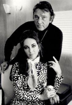 NPG x126133,Richard Burton; Dame Elizabeth Taylor,by Terry O'Neill
