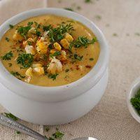 Creamy Corn Chowder (Gluten Free, Dairy Free + Vegan)