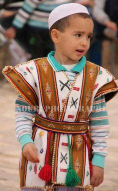 A boy from Algeria