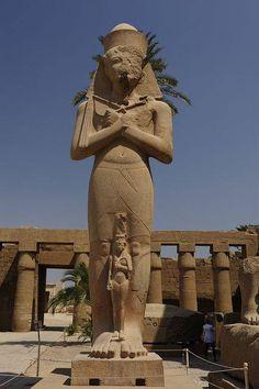 Karnak Temple Luxor, #Egypt. The #KarnakTemple Complex is located near Luxor…