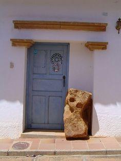 Casas de Barichara Visit Colombia, Small Art, Porches, Colonial, Villa, Exterior, Windows, Doors, Outdoor Decor