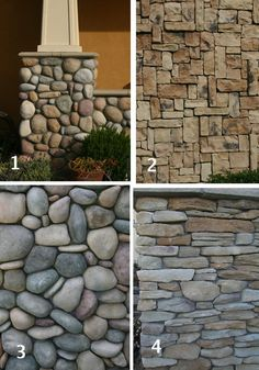 Finally found a cheap thin version of faux stone veneer Vinyl siding that looks like stone