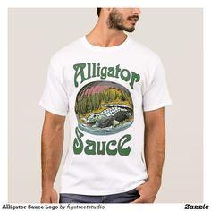Alligator Sauce Logo T-Shirt