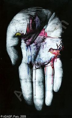 Being an artist means forever healing your own wounds and at the same time endlessly exposing them. Gcse Art, Hand Art, Texture Art, Religious Art, Art Plastique, Portrait Art, Sculpture Art, Cool Art, Art Drawings