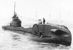 British T-class submarine.