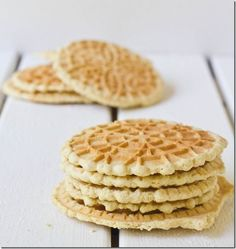 yummy!  I love pizzelles!  Now I found a gluten free recipe so I won't have to go without anymore.