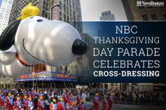 NBC NEVER misses an opportunity to push their agenda on us..   Read More: http://newsbusters.org/blogs/tim-graham/2013/12/01/nbc-thanksgiving-day-parade-celebrates-cross-dressing-and-gender-choice-  Thumb up if you could DO WITHOUT cross-dressing in the Macy's Thanksgiving Parade next year