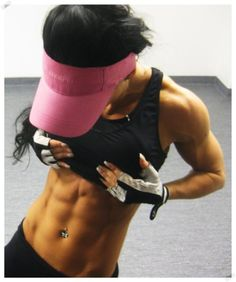Awesome abs and arms