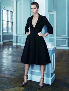"""Jennifer Lawrence in """"Fair Play"""" by Emma Summerton forELLE France,18 October 2013"""