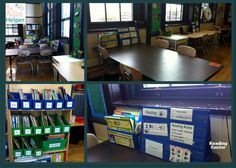 Reading Center in an Autism Classroom