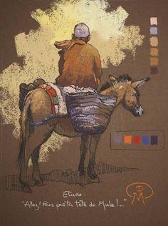Anatomy Sketches, Art Sketches, Patrick Martin, Colored Pencil Portrait, Toned Paper, Pastel Drawing, Art Studies, Art Plastique, Ancient Art
