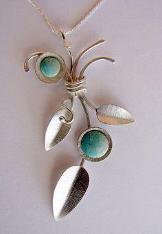 Silver & Polymer Clay, Beautiful