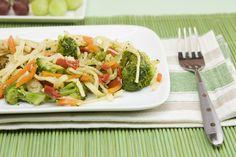 chicken pasta primavera with vegetables