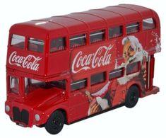 Routemaster 1:76 Coca Cola Xmas | Oxford Diecast