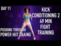 Kick Conditioning 2 49 Min Fight Training PT - YouTube