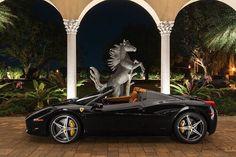 Black ferrari  #amazingcars247#carinstagram#private#drive#driveway #rangerover#bovet #tourbillon #rolex #rolexaholics #rolexwatch #wristwatch #adidas #yeezy #yeezyboost #ipadpro#hublot #hublotwatches #cartier #billionaireboysclub #billionaire #luxurousy#luxury #luxurylifestyle #luxurylife #expensivetaste #expensivecars #fashion#louisvuittonbag by luxurousy