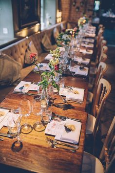 Creative Quirky Cosy Country Pub Wedding with a Rose Gold Dress - Wedding Ideas Pub Wedding Reception, Restaurant Wedding Receptions, Wedding Table, Wedding Ideas, Fall Wedding, 40s Wedding, Wedding Barns, Quirky Wedding, Wedding Venues