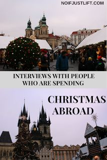 Christmas Abroad: Interviews with 4 girls, travellers, who are spending Christmas abroad.