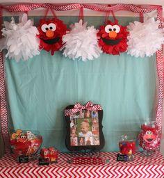 Handmade Happiness: Elmo 2nd Birthday Party
