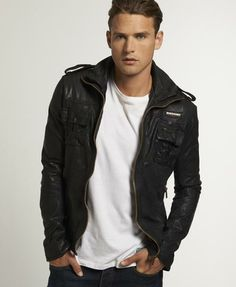 Superdry Ryan Leather Jacket - $450