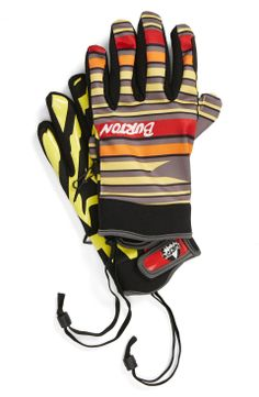 Athletic gloves | mens ski gloves | athletic |  snowboarding | sports | menswear | mens style | mens fashion | wantering http://www.wantering.com/mens-clothing-item/burton-spectre-gloves/afVD5/