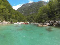 Rafting v Slovinsku - Rieka Soča Rafting, River, Outdoor, The Great Outdoors, Rivers, Outdoors