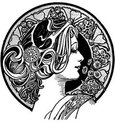Art Nouveau Designs | Art Nouveau & Art Deco | carienvermaakhistory