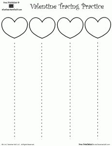 Valentine's Day Heart Cutting Practice with Straight Lines Preschool Cutting Practice, Cutting Activities, Preschool Learning Activities, Preschool Worksheets, Preschool Activities, Preschool Projects, Valentine Theme, Valentines Day Activities, Pre Writing