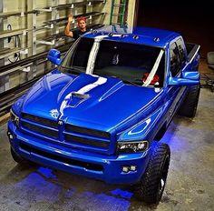 2000 Dodge Ram 1500 Clean Paint Job