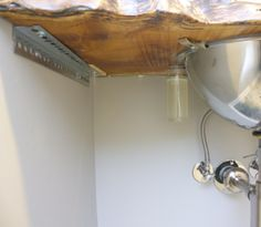 slab sink support underneath modfrugal