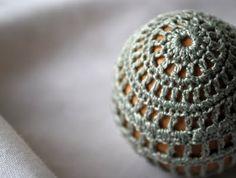 crocheted easter egg