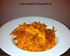 Όλα για τη δίαιτα Dukan: Ντουκάν τσιπς κολοκύθας