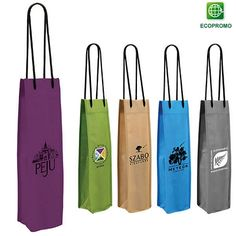 Promotional NonWoven Single Wine Bottle Bag | Customized Wine Bags | Promotional Wine Bags