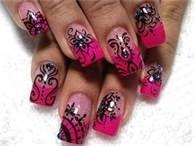 hand painted finger nails - Bing Images #nailart