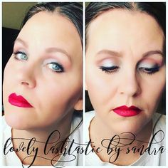 Today's look from my Facebook Live - after I fixed it of course (heehee). 💜💜☺ #makeup #cosmetics #lashes #mascara #younique #love #happy #mom #momof4 #sahm #wahm #fiberlash #joy #blueeyes #aspiringmua #boss #bossbabe #workfromhome #work #business #determination #dreams #goals #driven #lips #lipstain #facebook #live #spoon #trick