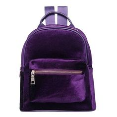 Lovesick Mini Velvet Backpack (235 CNY) ❤ liked on Polyvore featuring bags f88de64d6489a