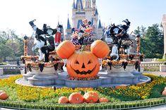 Halloween Decor at Tokyo Disneyland