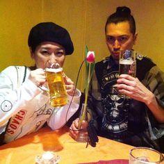 LAST OCHA with @excube & @ponhiro >>> Vielen Dank Herr Makoto und Frau Hiro  エナジーチャージしました次回は大阪で #excube #osaka #berlin #sokkyo by yukikopica