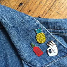 This adorable pin, tho. Eat them fruits!
