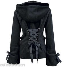 $54 and totally worth it.   http://www.ebay.com/itm/NEW-GOTHIC-EMO-PUNK-ALTERNATIVE-POIZEN-INDUSTRIES-ALICE-WOMEN-HOOD-/251223952144?afsrc=1