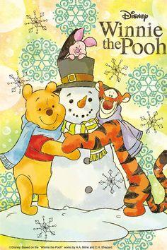 Disney's Winnie the Pooh:) Cute Winnie The Pooh, Winnie The Pooh Christmas, Winne The Pooh, Winnie The Pooh Quotes, Winnie The Pooh Friends, Disney Christmas, Eeyore, Tigger, Cute Disney